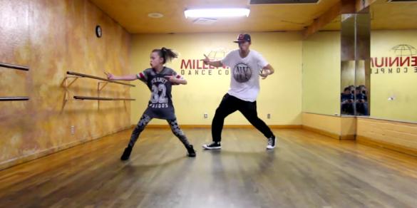 11 year old dancer megan train